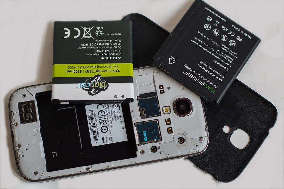 La batteria del cellulare